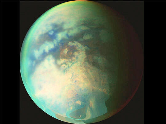 Vue générale de Titan