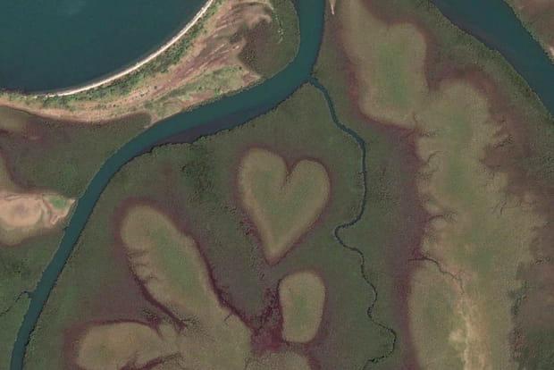 Le célèbre coeur en Nouvelle-Calédonie