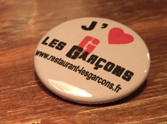 Restaurant : Les Garçons  - Relax, Eat, Enjoy -