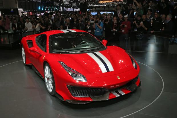 Ferrari 488Pista, la nouvelle bête de Ferrari