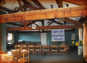 Auberge de Savoye  - La salle de réunion AUBERGE de SAVOYE -   © ADDSiteWeb