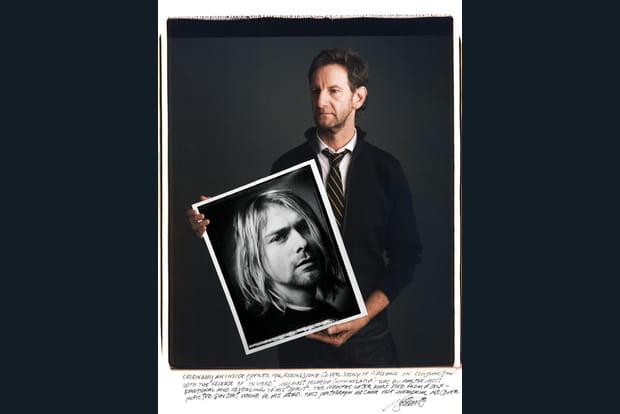 Le portrait iconique de Kurt Cobain