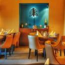 Restaurant : Le Cèdre  - La salle -