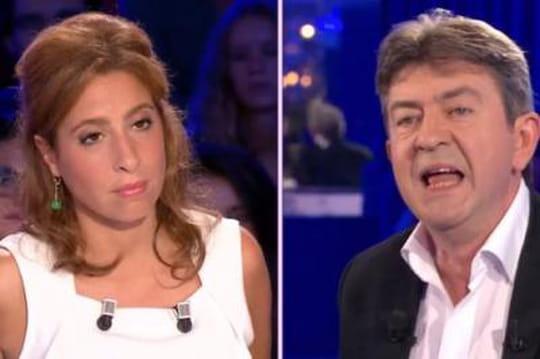 On n'est pas couché: clash entre Mélenchon et Léa Salamé