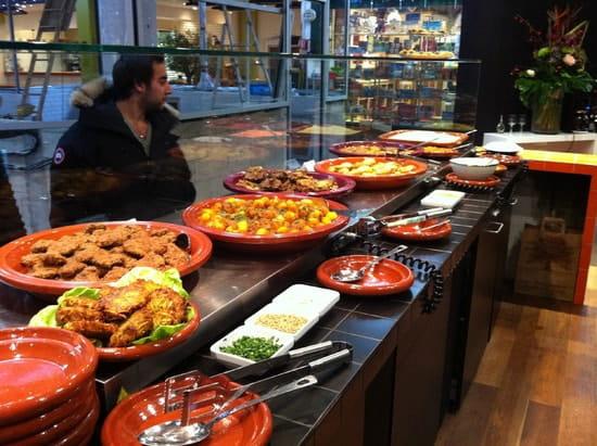 La Casba Marocaine  - le buffet de la casba -   © la casba marocaine