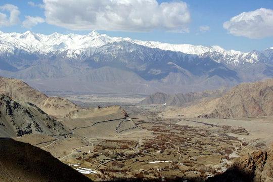 Leh, capitale du Ladakh