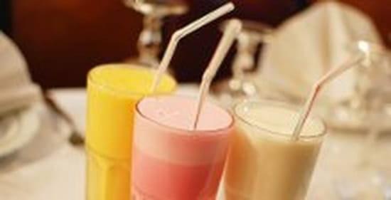 Restaurant indien Shah Jahan  - exemple de boisson (lassi) -