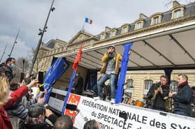 """""""Danser encore"""": des manifestations en musique contre les restrictions sanitaires"""
