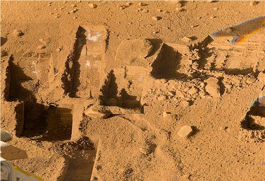 Un sol martien passé au crible