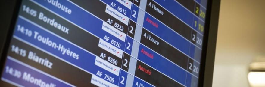 Grève Air France: 25% des vols annulés mardi 24, nouvelles dates en mai