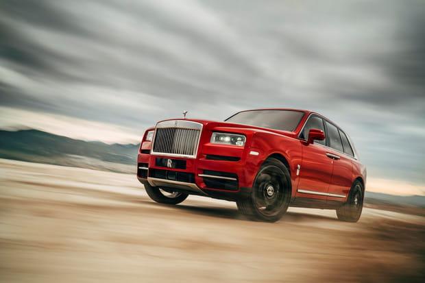 Le premier SUV de Rolls-Royce