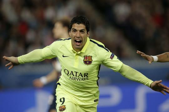 C1- PSG - Barcelone 2015: Paris largement battu (1-3)