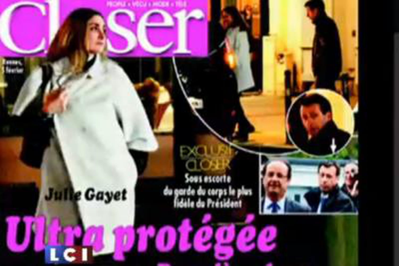 """Julie Gayet: Michel Sapin parle d'éventuelles """"menaces"""""""