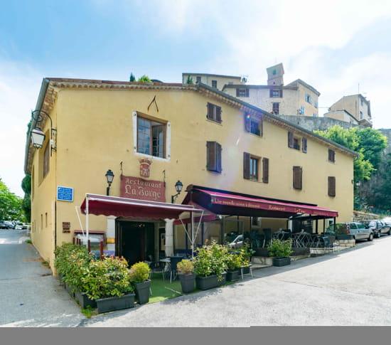 Restaurant : La Forge  - VUE EXTERIEURE -   © la Forge