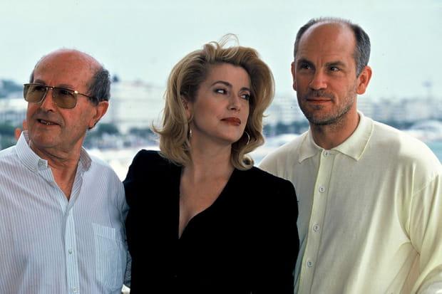 Catherine Deneuve et John Malkovich en 1995
