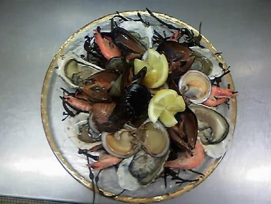 L'Epinoche  - Assiette dégustation fruits de mer -