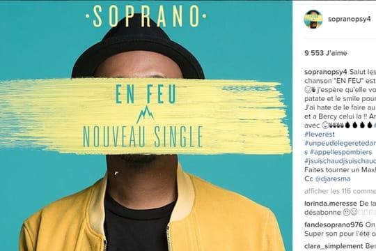 """Soprano : le clip de """"En feu"""" est en ligne!"""
