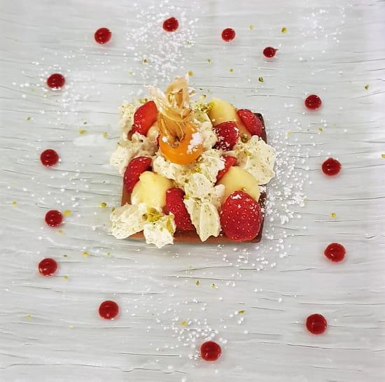 Dessert : Costa d'Amalfi  - Tartelette aux fraises -   © @ Restaurant Costa d'Amalfi