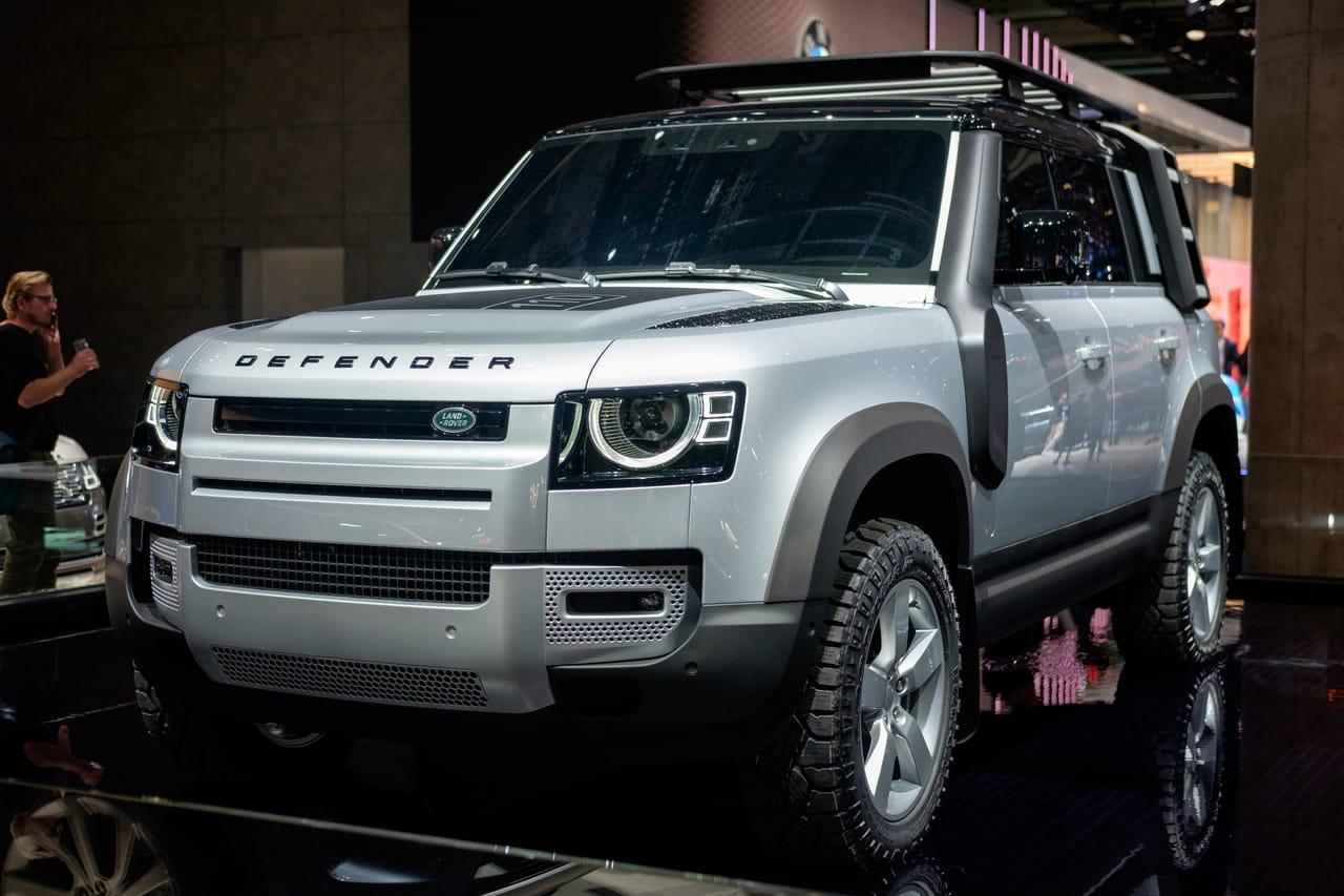 Les photos du nouveau Land Rover Defender au Salon de Francfort