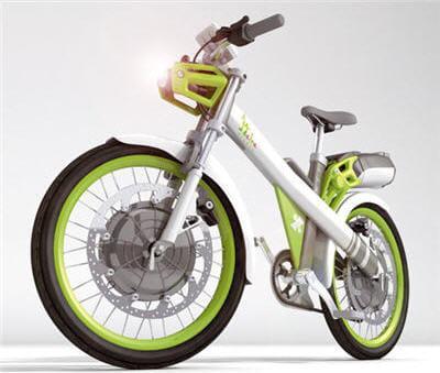 engin hybride à mi-chemin entre un vélo et une mobylette