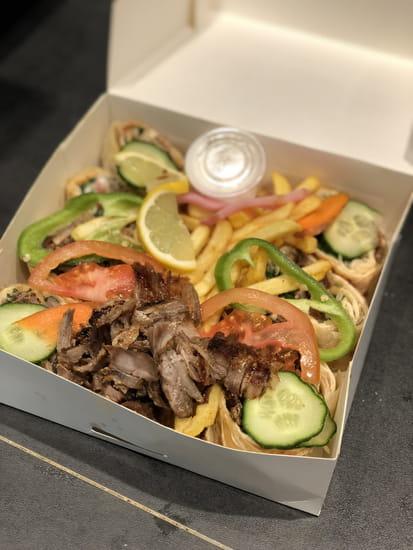 Plat : Mixette  - Assiette Alepo viande à emporter -   © Alepo