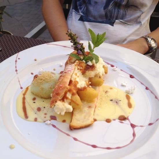 Dessert : L'Entre Temps Restaurant  - Croustillant du verger -