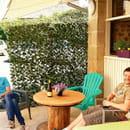 Restaurant : Le Gros Lierre  - terrasse -   © yvp