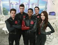 Les Bio-Teens : forces spéciales : L'union des Cinq