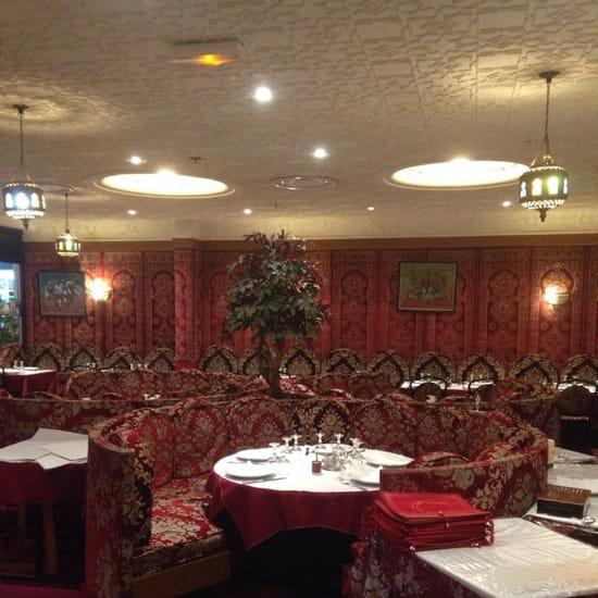 Restaurant : Le Palais du Maroc  - Très joli décoration  -
