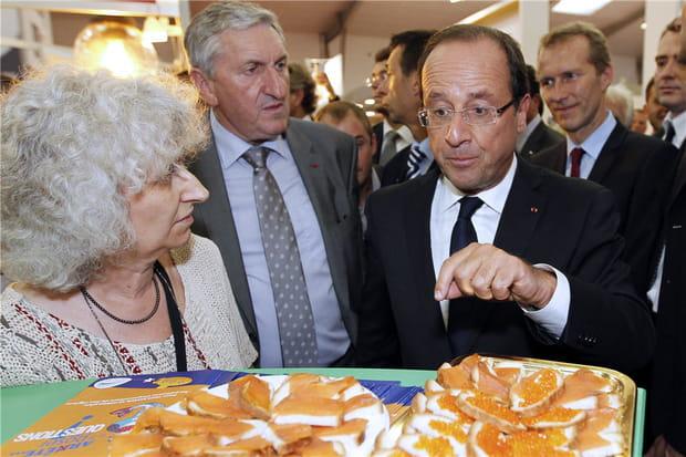 François Hollande met son régime entre parenthèses