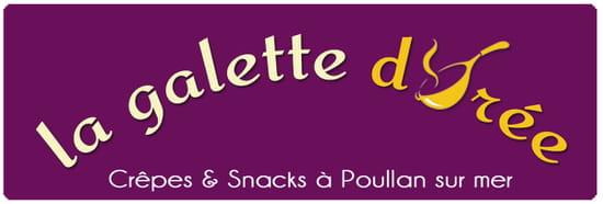 Restaurant : Crêperie La Galette Dorée  - Logo -