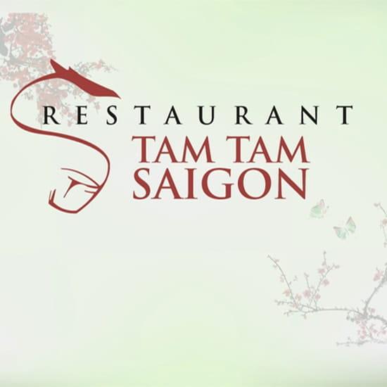 Tamtam Saigon  - logo Tam Tam Saigon restaurant vietnamien bordeaux -   © Tam TAm SAigon
