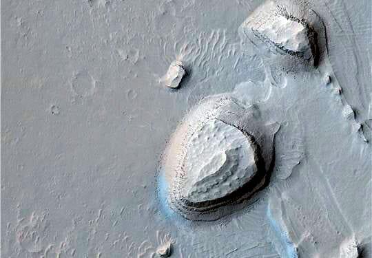 Relief planète Mars