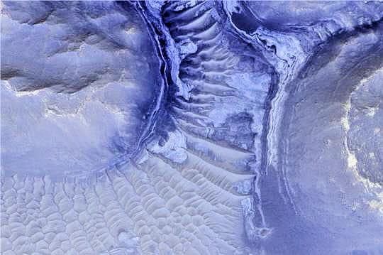 Perdu dans le labyrinthe de Mars