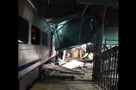 Hoboken: les images de l'accident de train près de New York