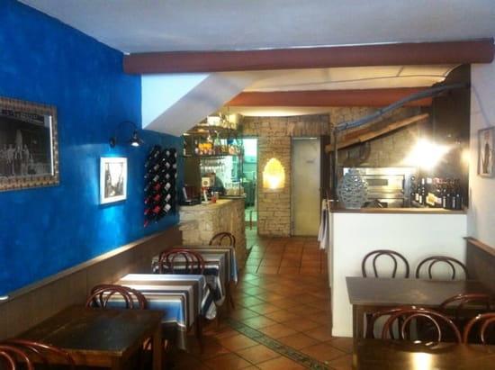 Restaurant : Bleu Citron  - Salle -