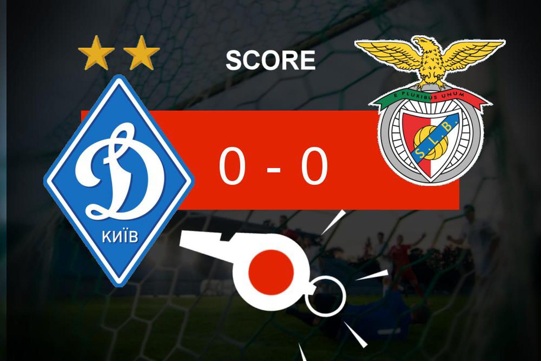 Dynamo Kiev - Benfica: égalité parfaite, ce qu'il faut retenir