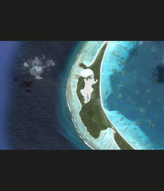 Ces îles aux formes insolites vues du ciel