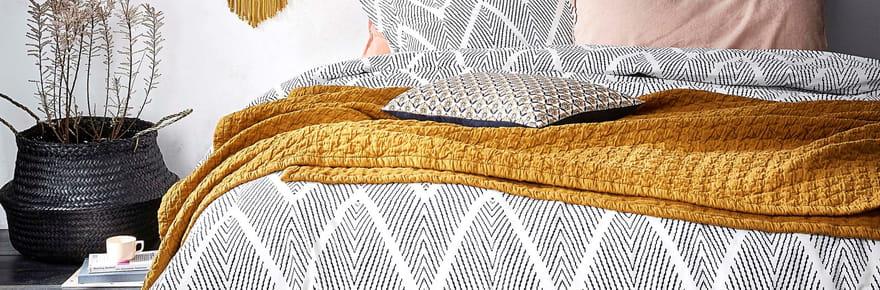 Mois du blanc : notre sélection de jolies parures de lit