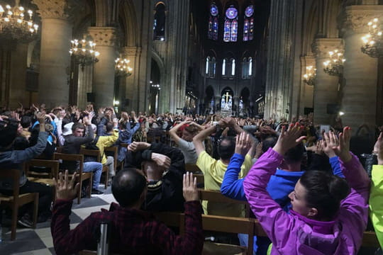 Notre-Dame de Paris: un attentat? L'identité de l'auteur se précise