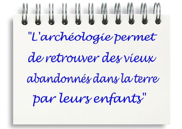 Archéologie utile