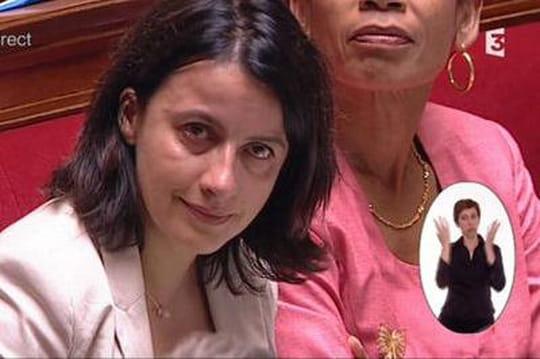 Cécile Duflot: attaquée sur soncompagnon Xavier Cantat, ellepleure àl'Assemblée