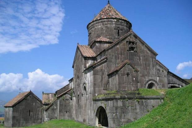 Le monastère byzantin d'Haghbat en Arménie