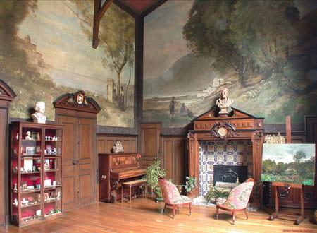 Maison-Atelier de Daubigny, foyer artistique