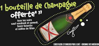 Boisson : Bistro Régent  - nous offrons le champagne (voir conditions) -   © jmp