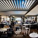 Restaurant : Le Paseo - Cocktail club & restaurant (Ex : LE SUD)  - Espace canapé - vue mer -   © Le Paseo - Cocktail club & Restaurant