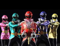 Power Rangers Super Megaforce : Doublure argentée