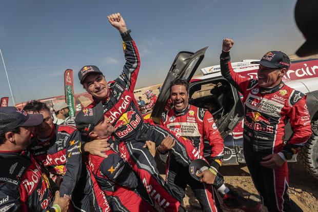 Carlos Sainz remporte son troisième Dakar