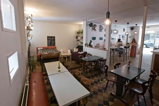 Restaurant : Bam Bam Café  - Salle 2 -   © Antoine Sicot