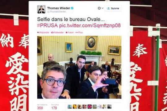 Rencontre Hollande-Obama: lesselfies, nouvelle mode chezlesjournalistes français